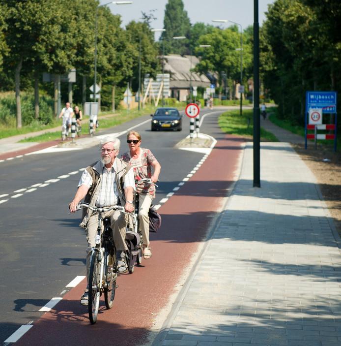 Er heerst verwarring over de nieuwe verkeerssituatie op de Wijbosscheweg,