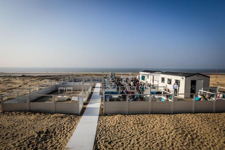 Middelkerke: beachbar tiki beach