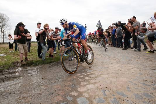Niki Terpstra in Parijs-Roubaix