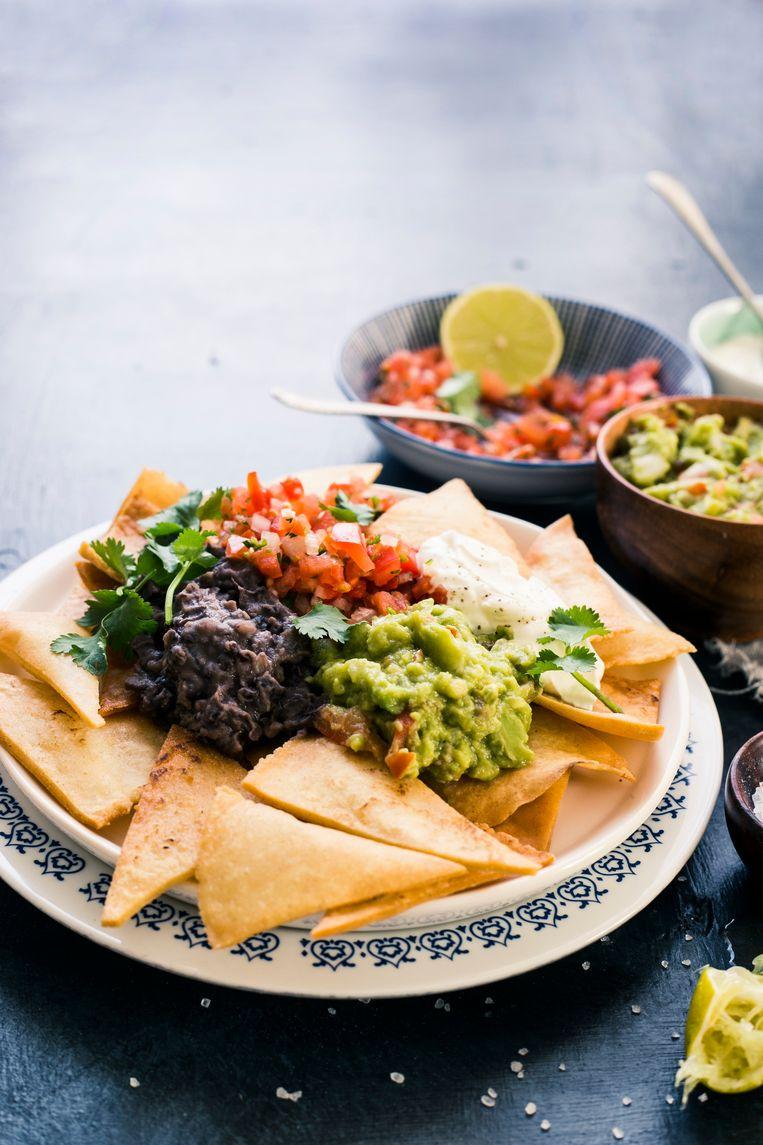 Mexicaans op zijn Texaans is zijn favoriete keuken.  Beeld FoodCollection