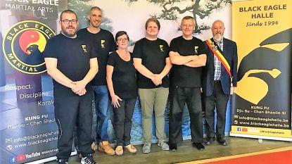 Kung fu-club Black Eagle Halle viert vijfentwintigste verjaardag tijdens zomerstage