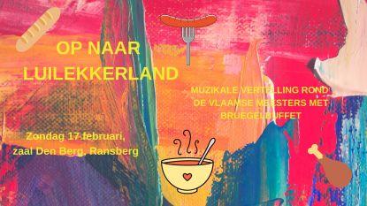 Muzikale vertelling rond de Vlaamse Meesters