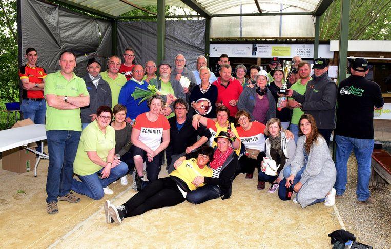 De Petanqueclub organiseerde hun clubtornooi