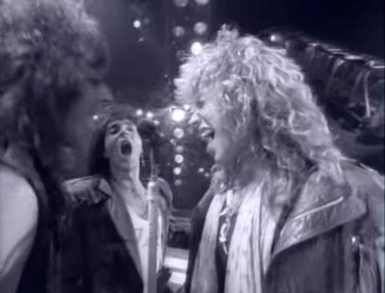 Bon Jovi: Living on a Prayer (1986). Beeld
