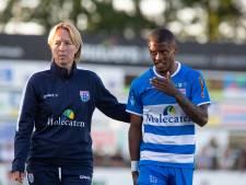 Paal vraagteken bij PEC Zwolle; Bouy wel inzetbaar tegen Vitesse