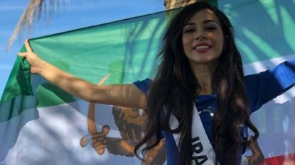 Doodsbange Iraanse miss smeekt om asiel
