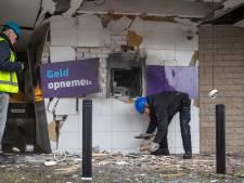 Door plofkraak verwoest geldautomaat in Ede keert niet terug