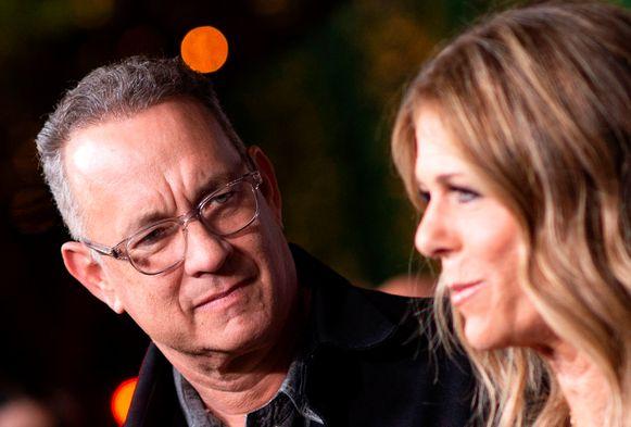 Tom Hanks en zijn vrouw Rita Wilson.