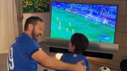 Mooie beelden in tijden van corona: Zambrotta herbekijkt WK 2006 met zoontje