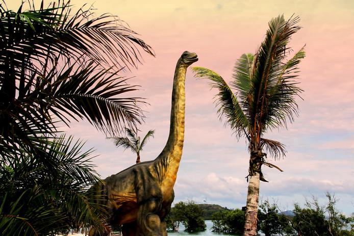 Zo zou de Sauropoda eruit hebben kunnen zien