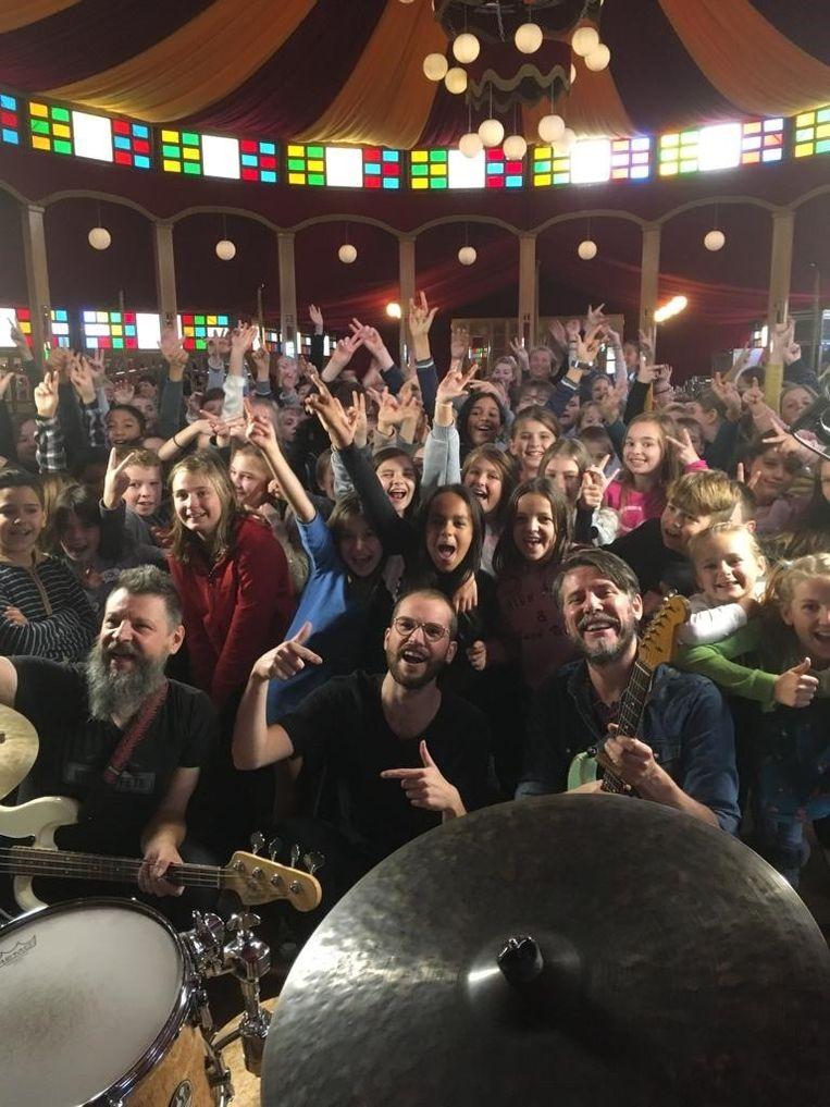 Bibliotheek Neteland organiseert eind november enkele concerten voor leerlingen van het vijfde en zesde leerjaar