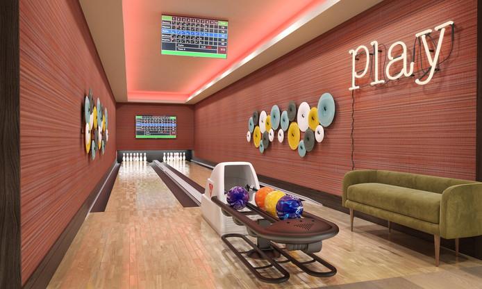 Le mini-bowling.