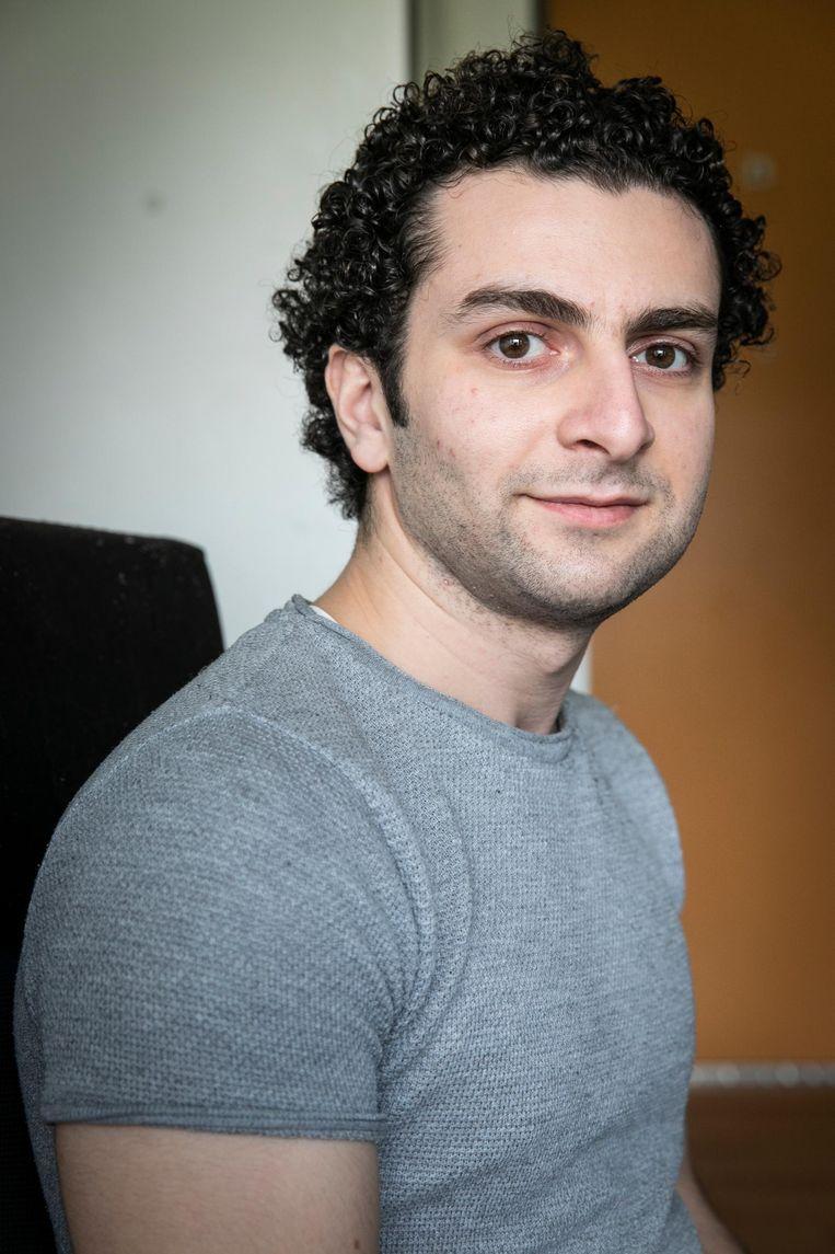 Abdullah Nashef (26) Beeld Dingena Mol