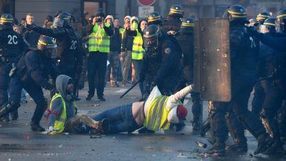 Frankrijk: vier gele hesjes in snelrecht veroordeeld tot vier maanden cel