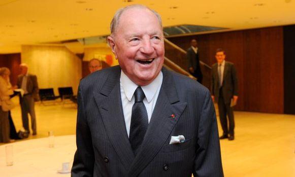 Baron Albert Frère overleed maandag op 92-jarige leeftijd
