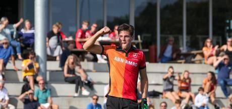Oranje-Rood ziet international Teun Beins (22) naar Bloemendaal vertrekken