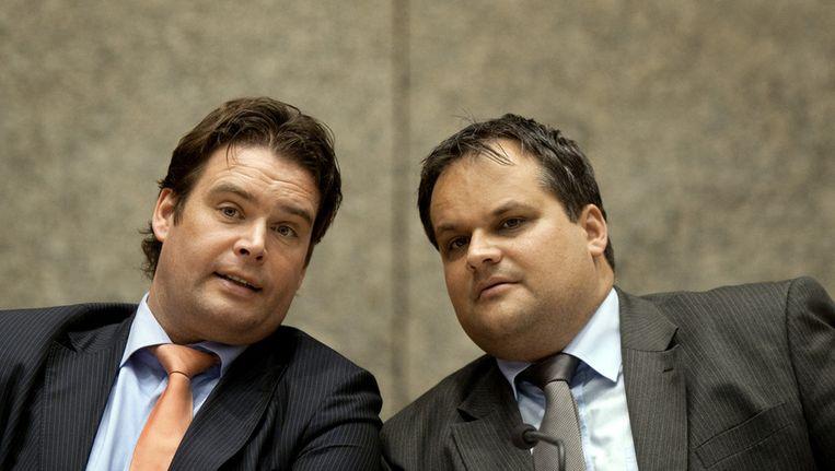 Staatssecretaris Weekers en minister De Jager Beeld ANP