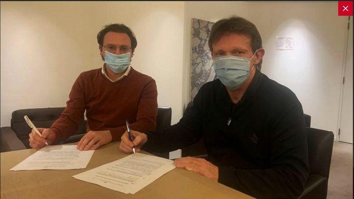 Vercauteren tekende maandag een contract van één jaar op de Bosuil.