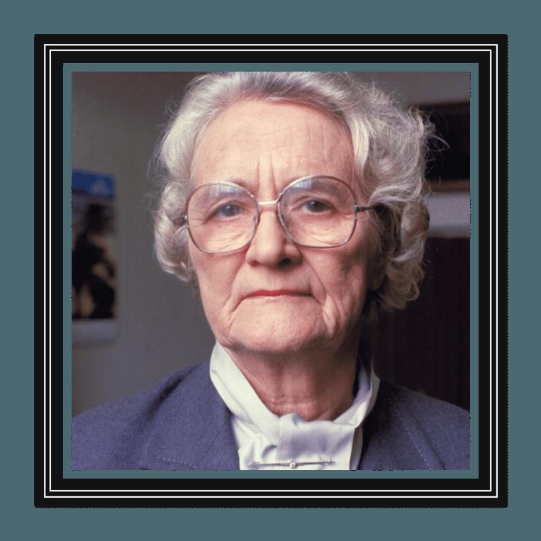 Marga Klompé (1912-1986) was in 1956 eerste vrouwelijke minister in de Nederlandse geschiedenis, voor de Katholieke Volkspartij (nu CDA). Bouwde de verzorgingsstaat uit, voerde bijstandswet in. Beeld ANP