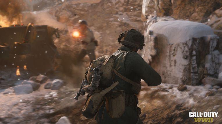 'Call of Duty: WWII': eventjes dekking zoeken tijdens een kogelregen volstaat niet meer.