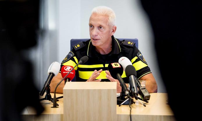 Dick Schouten, hoofd operatie van de politie Midden en West Brabant.