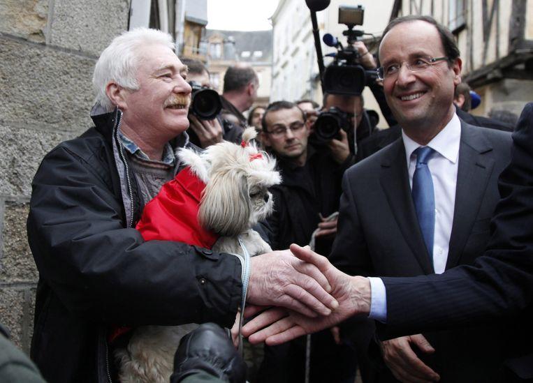 Hollande in 2012. Beeld afp