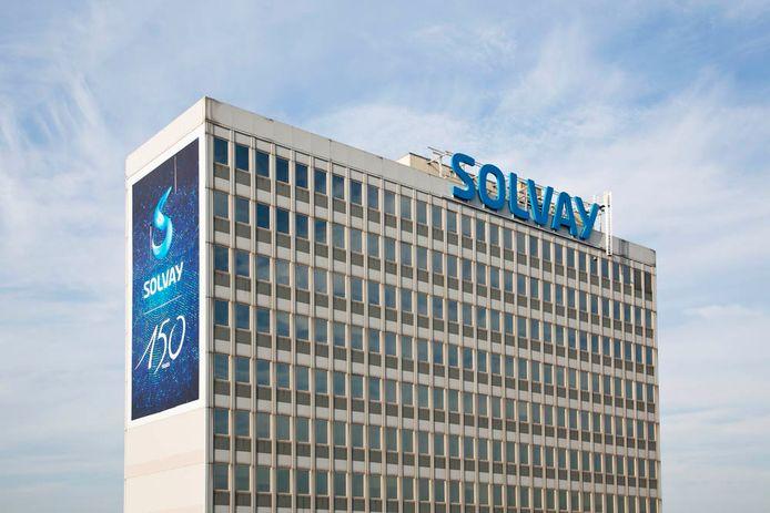 Le siège de Solvay à Neder-over-Heembeek.