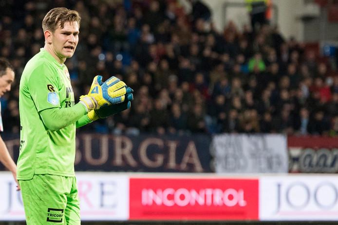 Willem II-keeper Mattijs Branderhorst