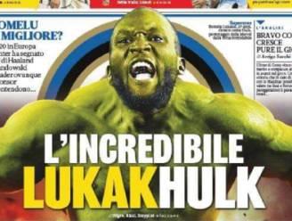 'The Incredible Hulk': Romelu Lukaku zuigt in Italië alle aandacht naar zich toe