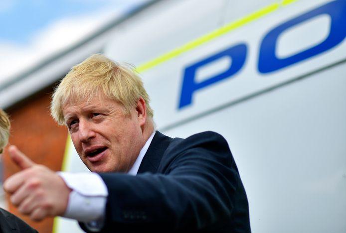 De Britse eerste minister Boris Johnson.
