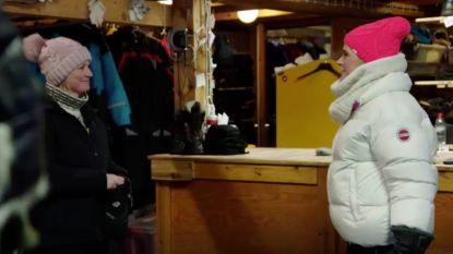 Niet op tv: boerin Marianne kleedt Dina Tersago in 'Boer zkt. Vrouw'