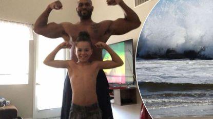 Wreed dilemma beslecht drama op zee: gewezen profworstelaar (39) verdrinkt, zijn tienerzoon gered