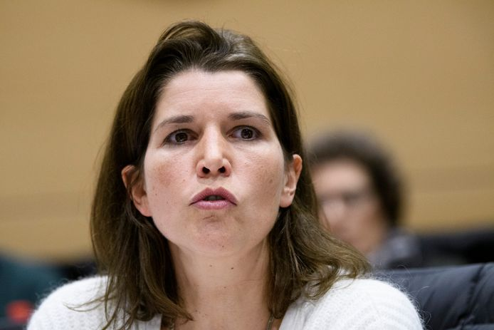 La députée Valerie Van Peel (N-VA).