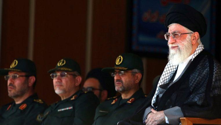 De hoogste Iraanse leider ayatollah Ali Khamenei. Beeld epa