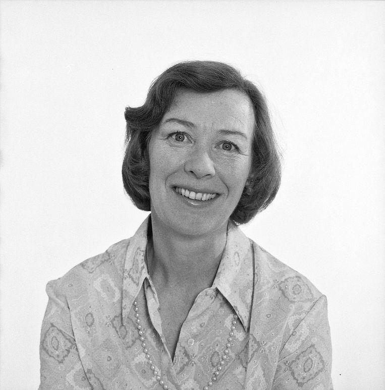 Elisabeth Andersen in 1973. Na de reeks interviews kreeg de ze spijt van haar medewerking. Beeld Hollandse Hoogte / Beeld en geluid
