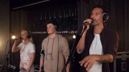 Sean Dhondt strikt The Voice-talenten Wannes en Robin voor deze powercover van David Guetta