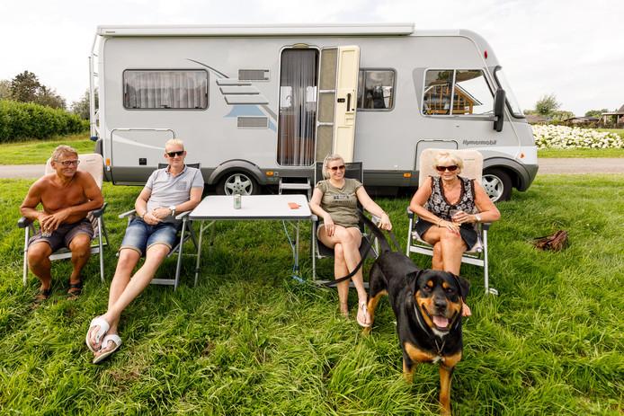 Op het Hulsbeek moet een camperplaats komen met 50 verharde plekken.