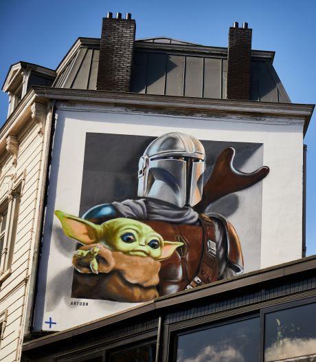 Un parcours street art Disney s'invite dans 5 villes belges