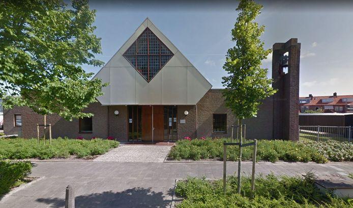 Het kerkgebouw van de hervormde gemeente in Poeldijk.