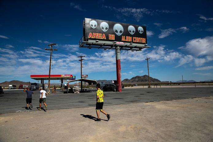 Area 51 is een zwaar beveiligde militaire basis in de Amerikaanse staat Nevada.