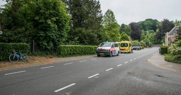 Wéér een ongeval met een wielrenner op beruchte plek in Rozendaal.