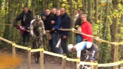 Opschudding in Gavere: Van Aert primus na materiaalpech bij concurrenten, Van der Poel moet fiets enkele dagen laten staan