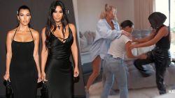 Waarom zussen Kim en Kourtney Kardashian zo hard in de clinch liggen (en op de vuist gaan)