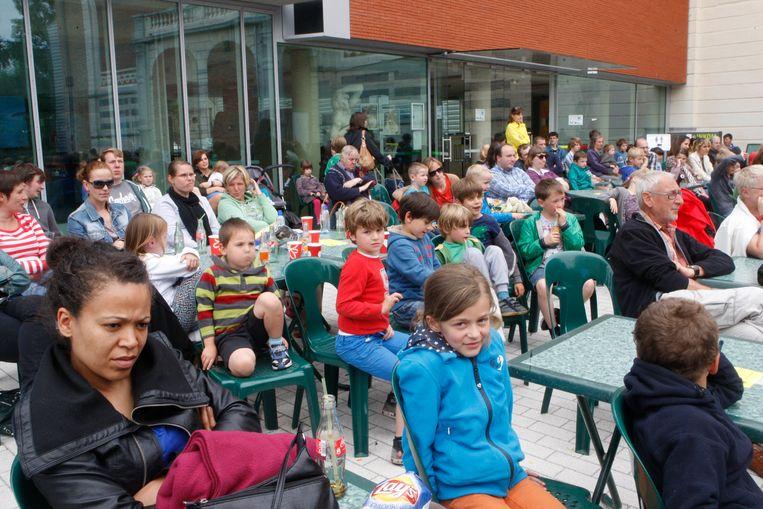 Movie Open Air, toen nog voor het Vrijetijdscentrum in Tienen