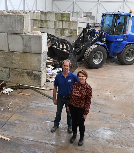 Van Elst Containerverhuur kan op nieuwe plek weer jaren vooruit