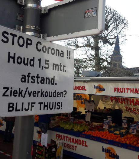 Volgende week weer: de Wijchense markt is 'coronabestendig'