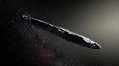 """Sigaarvormige ruimterots was mogelijk """"buitenaardse sonde"""""""