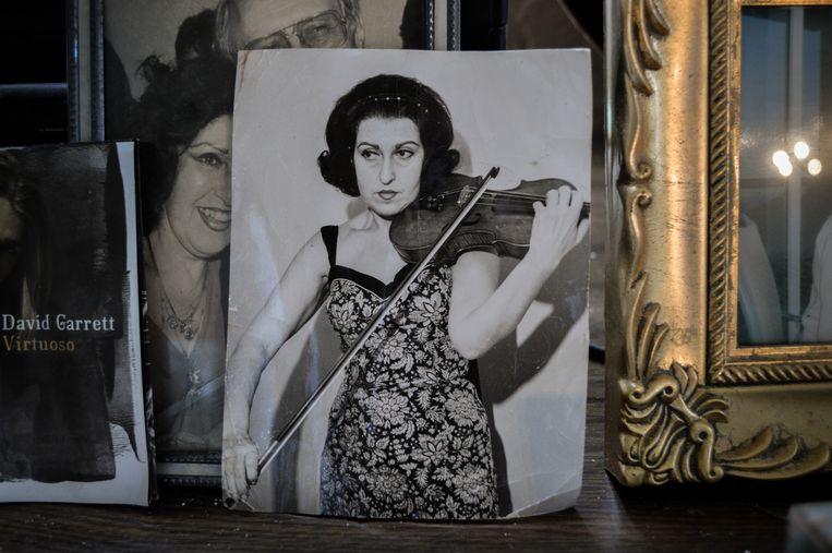 Ida Haendel in haar jonge jaren. Beeld Jelle Pieter de Boer