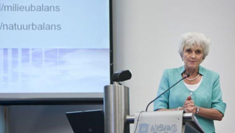 Milieuminister Jacqueline Cramer vertrouwt erop dat het Planbureau voor de Leefomgeving (PBL) rapporten van het IPCC, het klimaatpanel van de Verenigde Naties, nauwgezet onderzoekt op fouten. Foto GPD Beeld