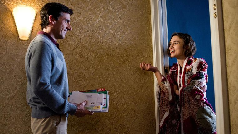 Steve Carell en Keira Knightley in Seeking a Friend for the End of the World Beeld null